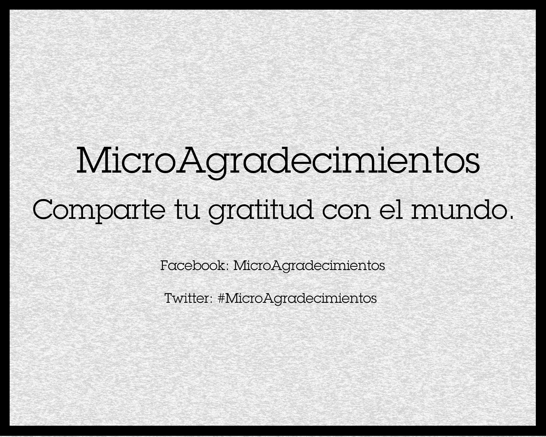 MicroAgradecimientos